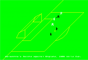 Maradonna's Second Goal V England, World Cup 1986